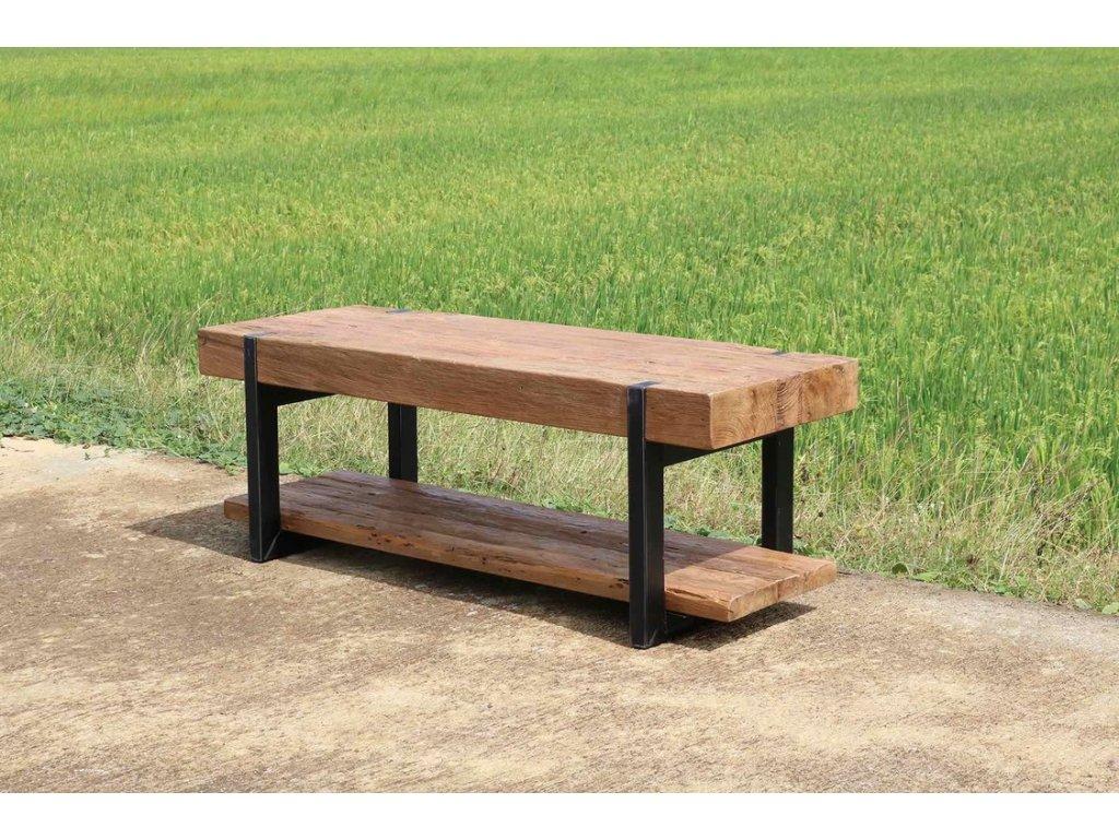 teakový TV stolek MUNA
