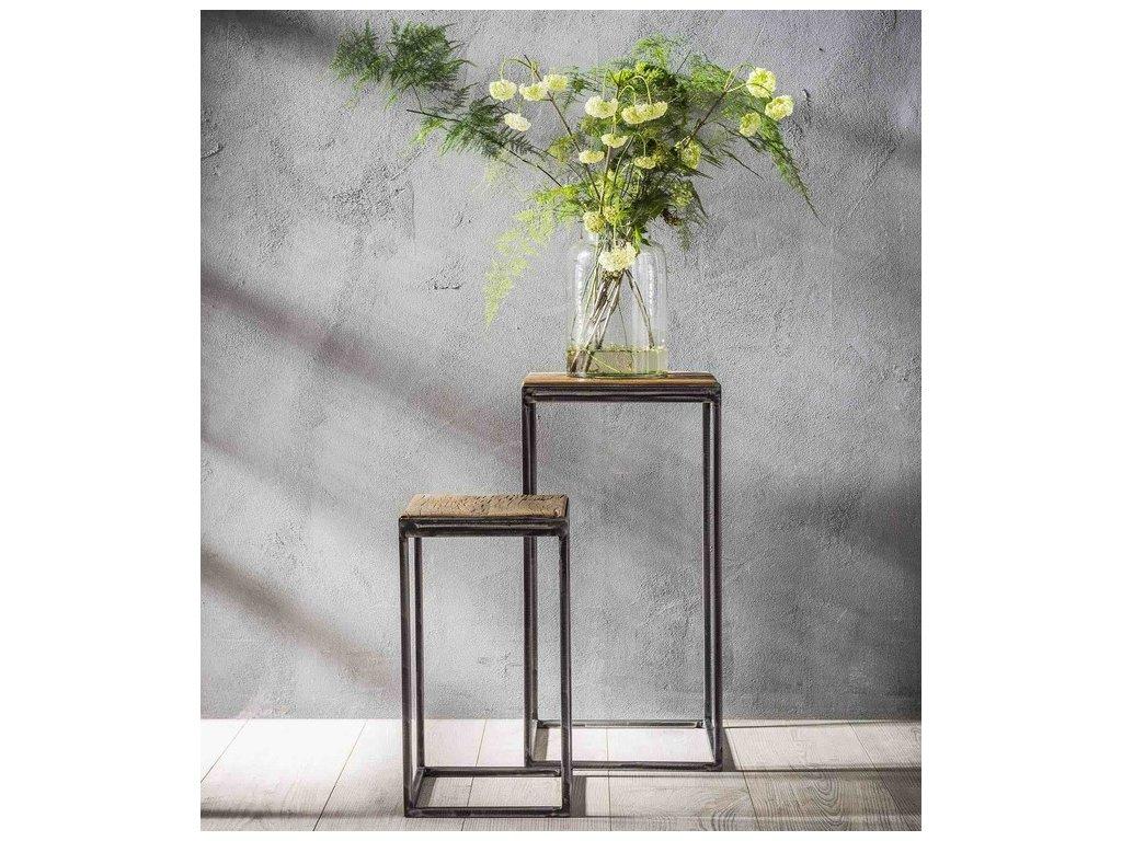 stolek odkládací na květiny, 2 velikosti