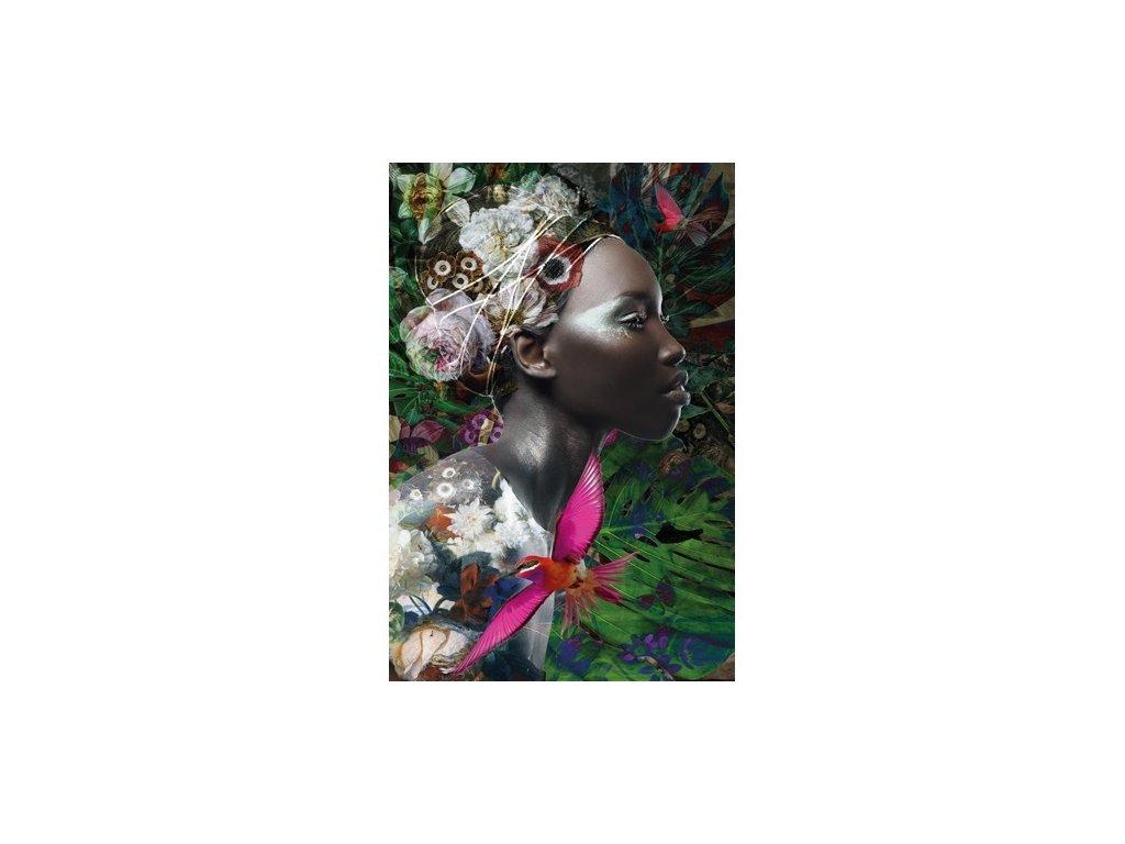 obraz na hliníku 120x180cm - DARK WOMEN