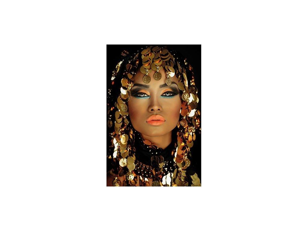 obraz na hliníku 120x180cm - ARABIAN PRINCESS