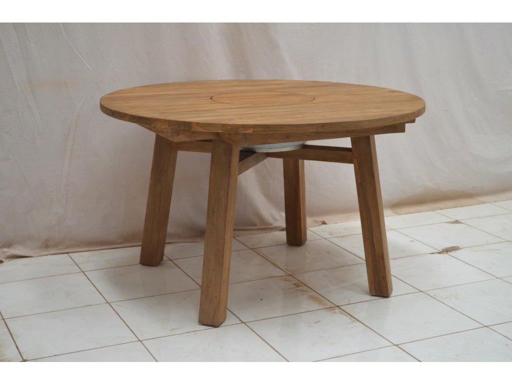 teakový zahradní stůl ICY ROUND