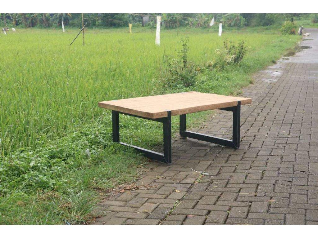 teakový konferenční stolek MUNA THIN