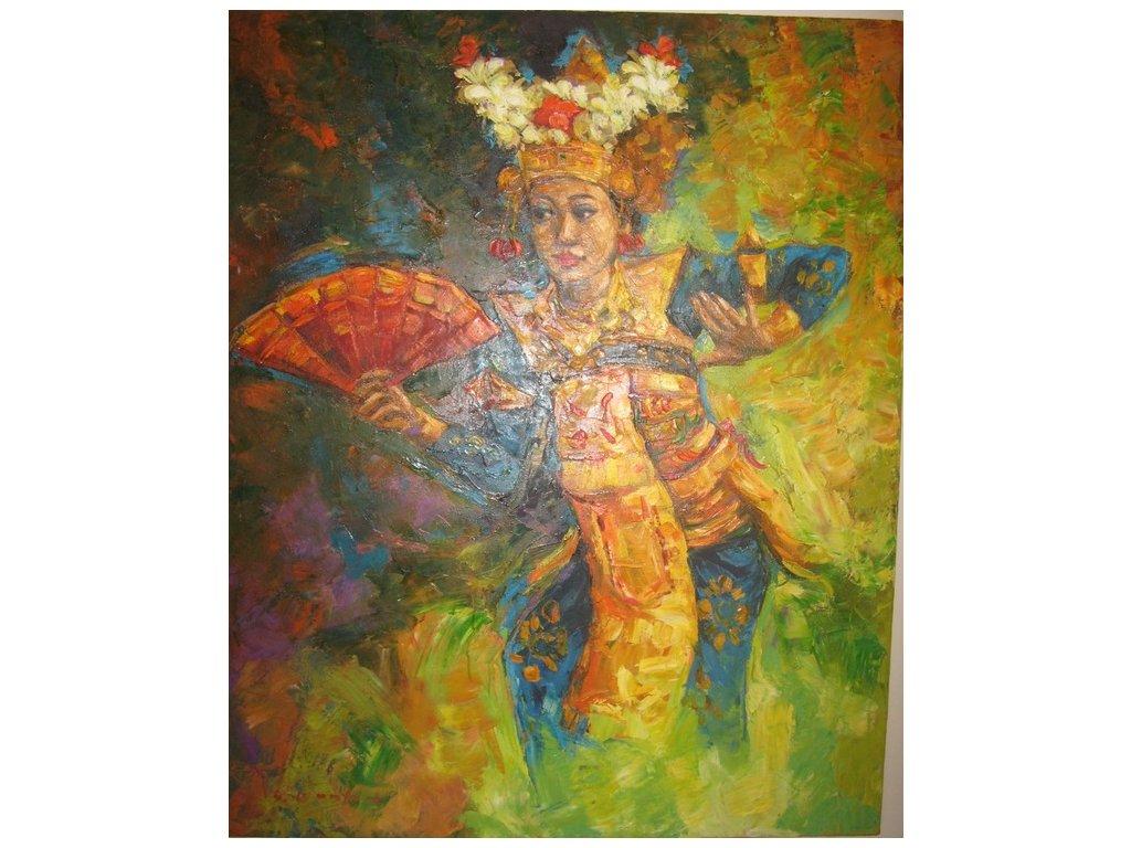 olej na plátně 283,  100 x 120 cm