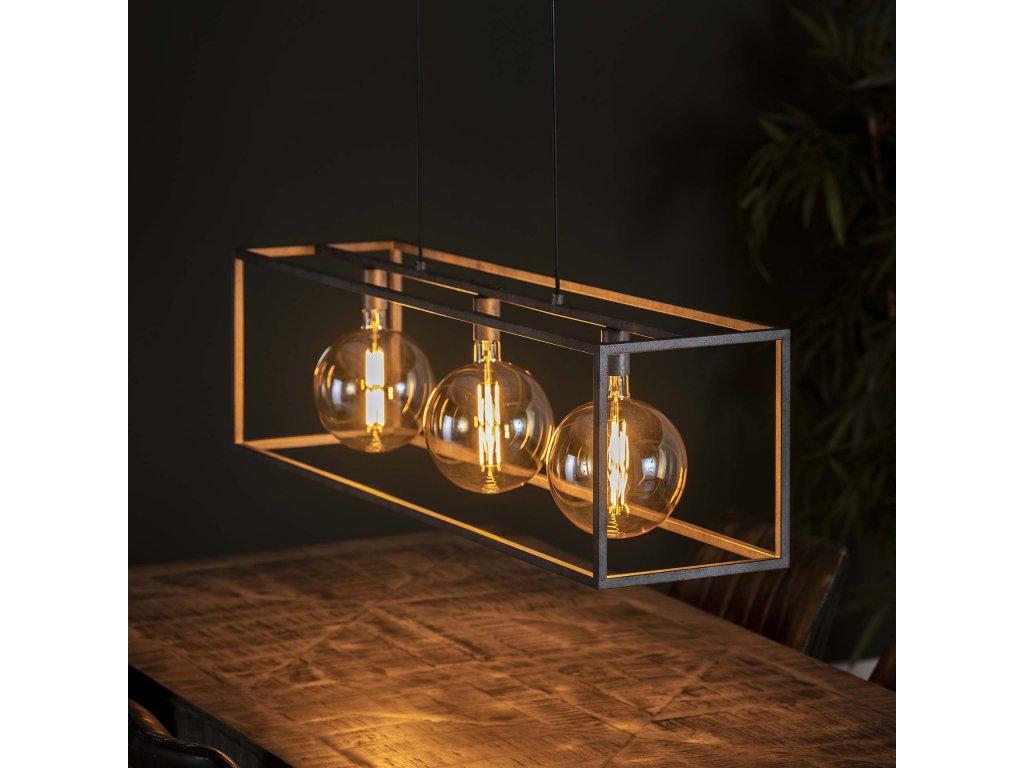 Závěsná lampa 3L obří čtverec