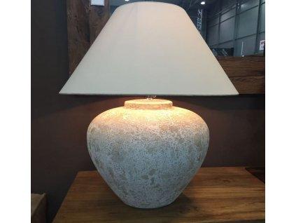 keramická lampa CREAM BIG