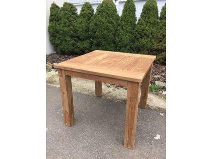 teakový stůl BALI 100x100