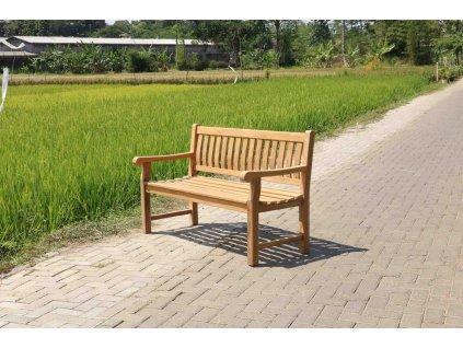 teaková lavice ERGO 120cm, různé velikosti