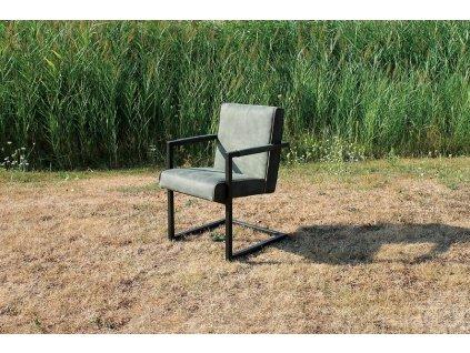 kožená židle ELLEN