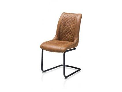 čalouněná židle ARMIN - koňaková