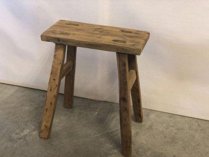 teaková stolička DINGKLIK