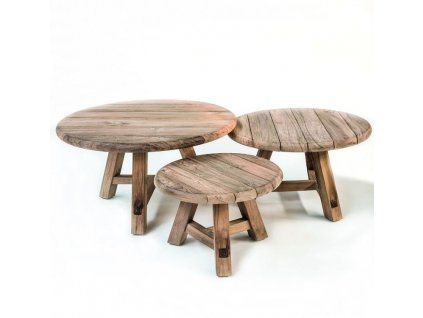 teakový zahradní stolek MAIRE