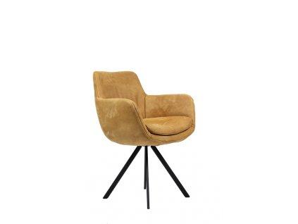 kožená  židle MANDY