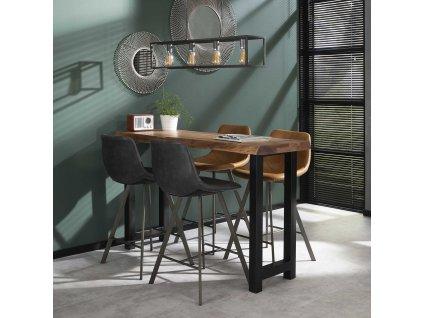 barový stůl Tree Trunk 150 cm, akácie