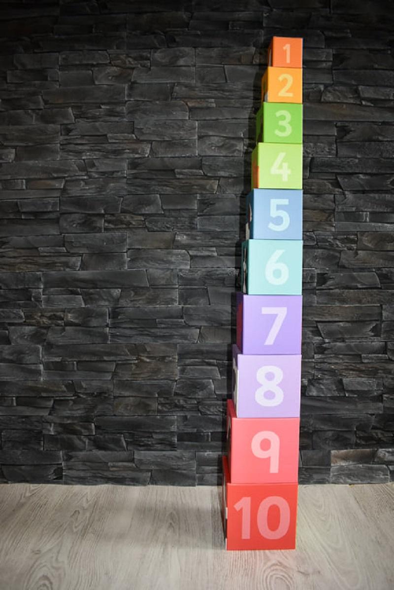 Kostky s čísly