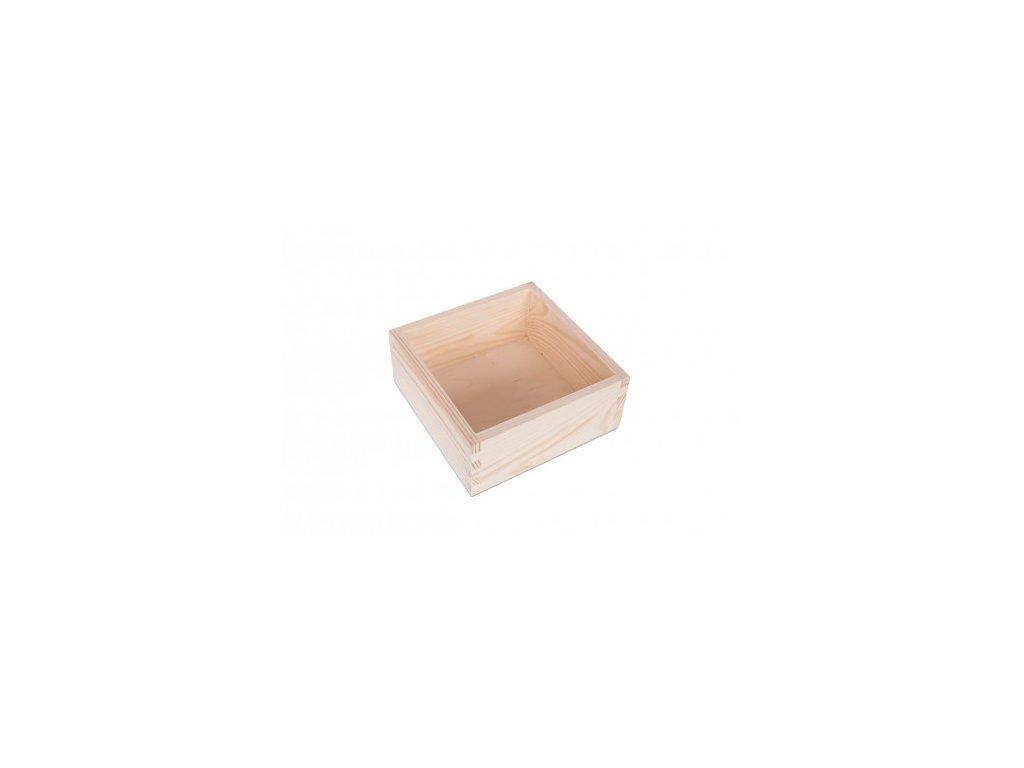 DŘEVĚNÝ BOX 15X15 CM