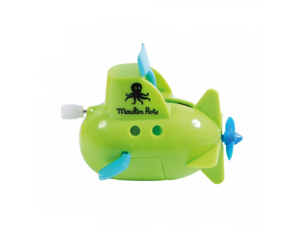 9698 ponorka do vany zelena