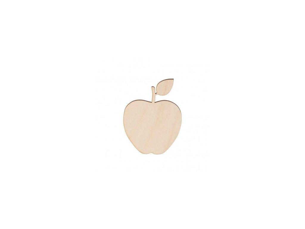 Dřevěné jablko 8 x 6 cm 462x388