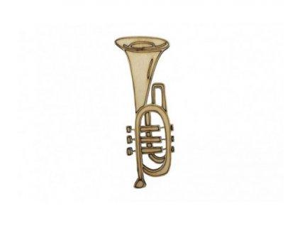 drevena trumpeta 9 x 3 5 cm 462x388
