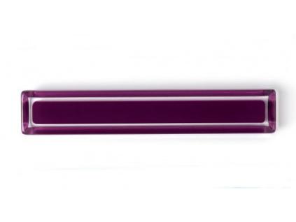 Nábytková úchytka fialová