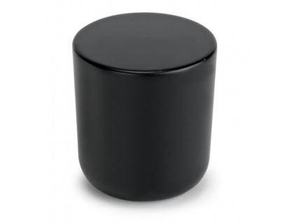 Nábytková knopka černá