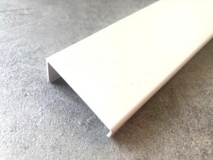 Úchytka na hranu  V0518-032, 128, 1056 LM1  bílá WAY