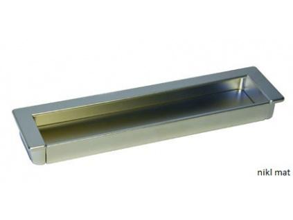 Zápustná úchytka K51 rozteč 160 mm