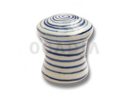 Knopka nábytková porcelánová