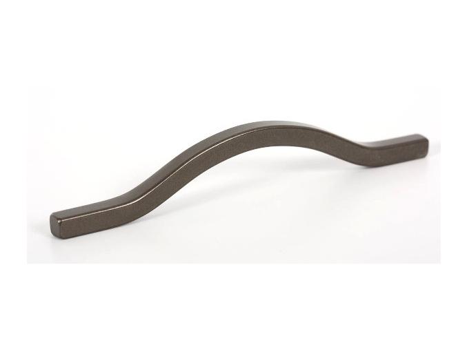 Nábytková úchytka metalicky šedá