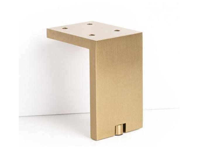 Nábytková nožička  zlatá broušená Viefe 6005100L29 FONDA