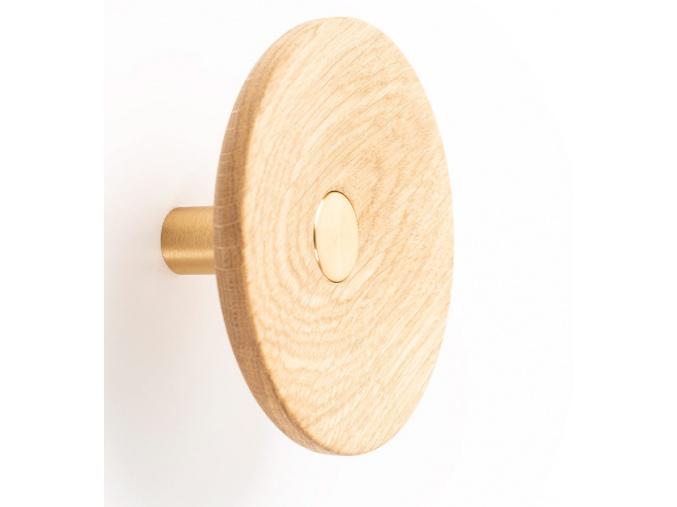 Háček Zoot dřevěný Viefe
