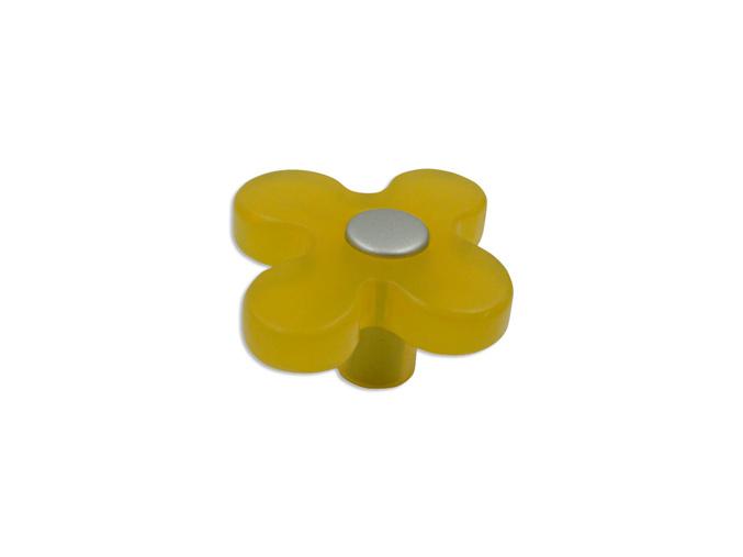 Knopka dětská žlutá