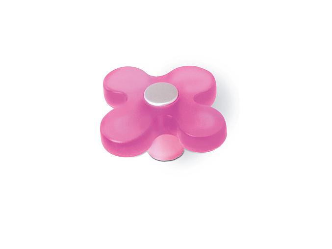 Knopka dětská růžová květ