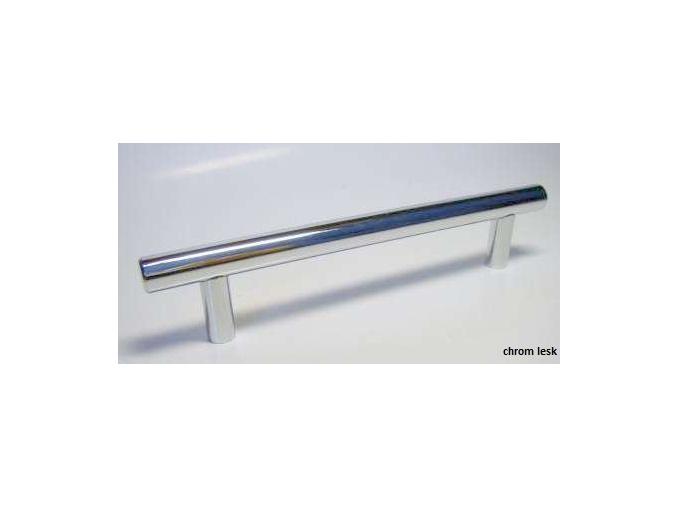 Úchytka K 61 chrom lesk rozteč 128 mm- 896 mm