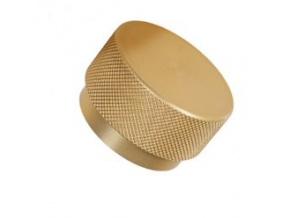 Nábytková knopka zlatá graf