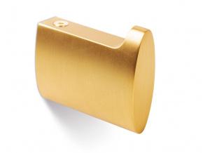 Háček na zeď zlatý
