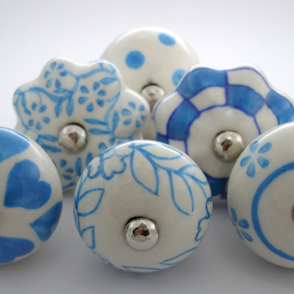 Výhodná sada 6 ks-Bílá a modrá
