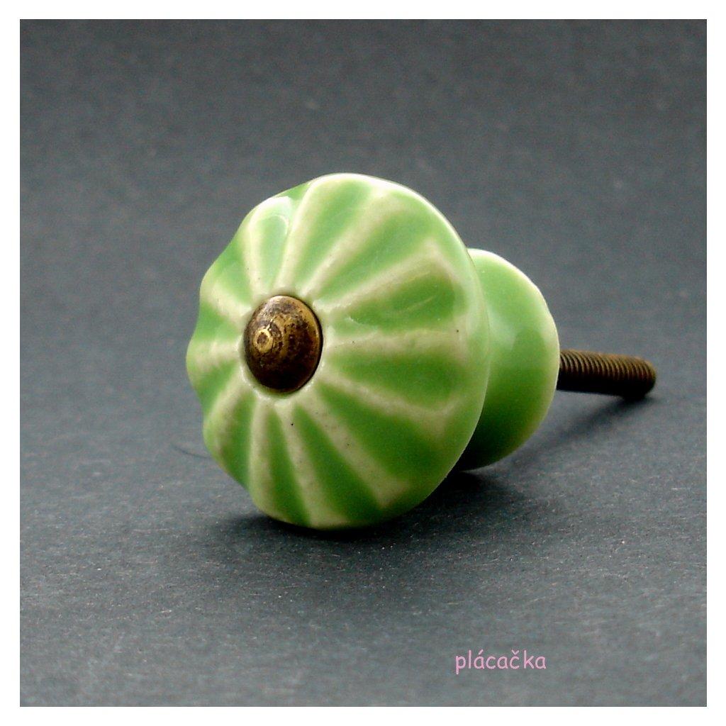 Knopka zelená- model 4