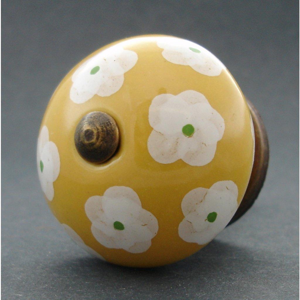 Keramická úchytka -Krásnoočko melounové