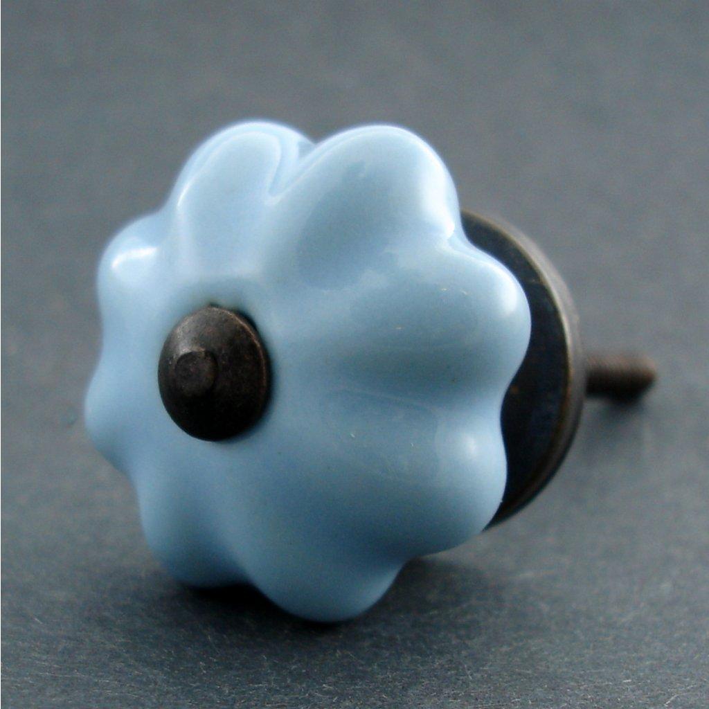 Keramická úchytka-Modrá-SMALL