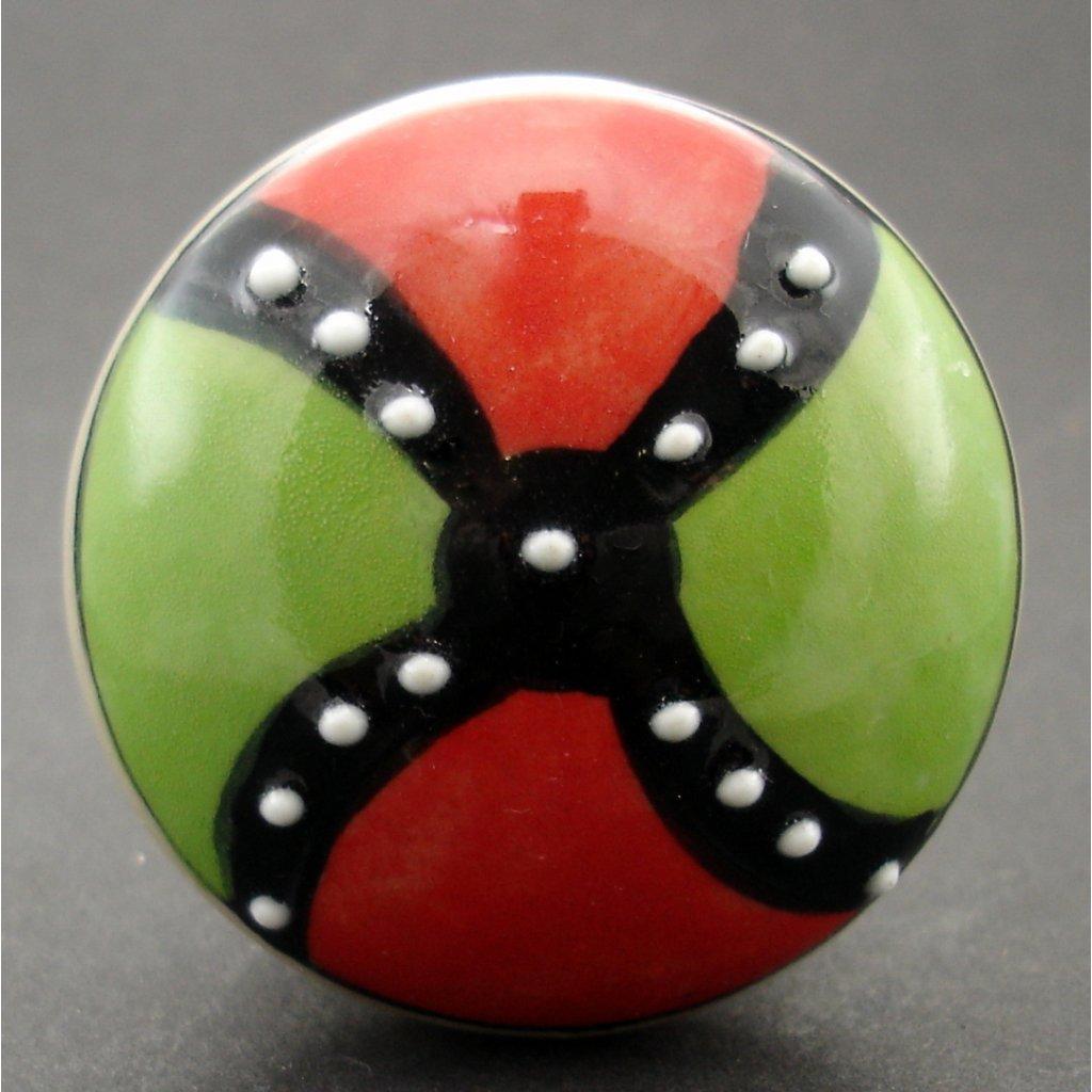 Maxiúchytka-Zelenočervená