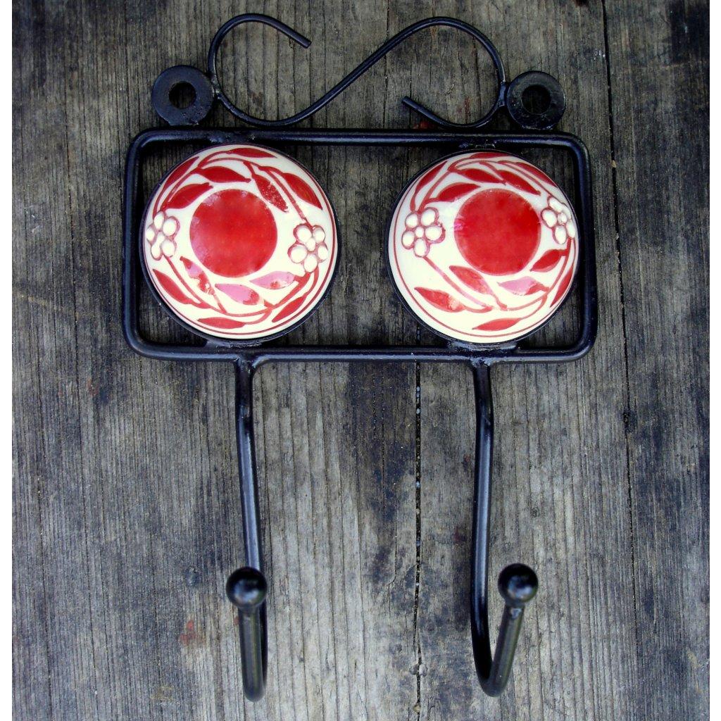 Dvojvěšák-Červený