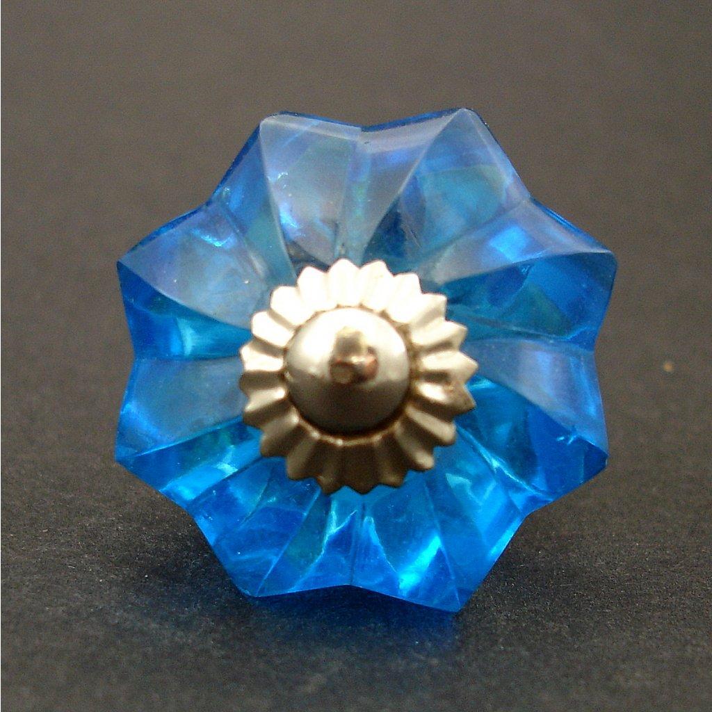 Skleněnka- Modrá