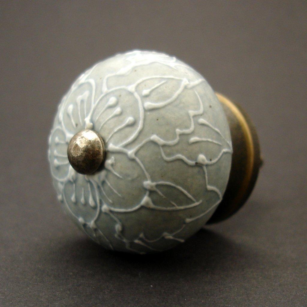 Keramická úchytka-Verona-šedá