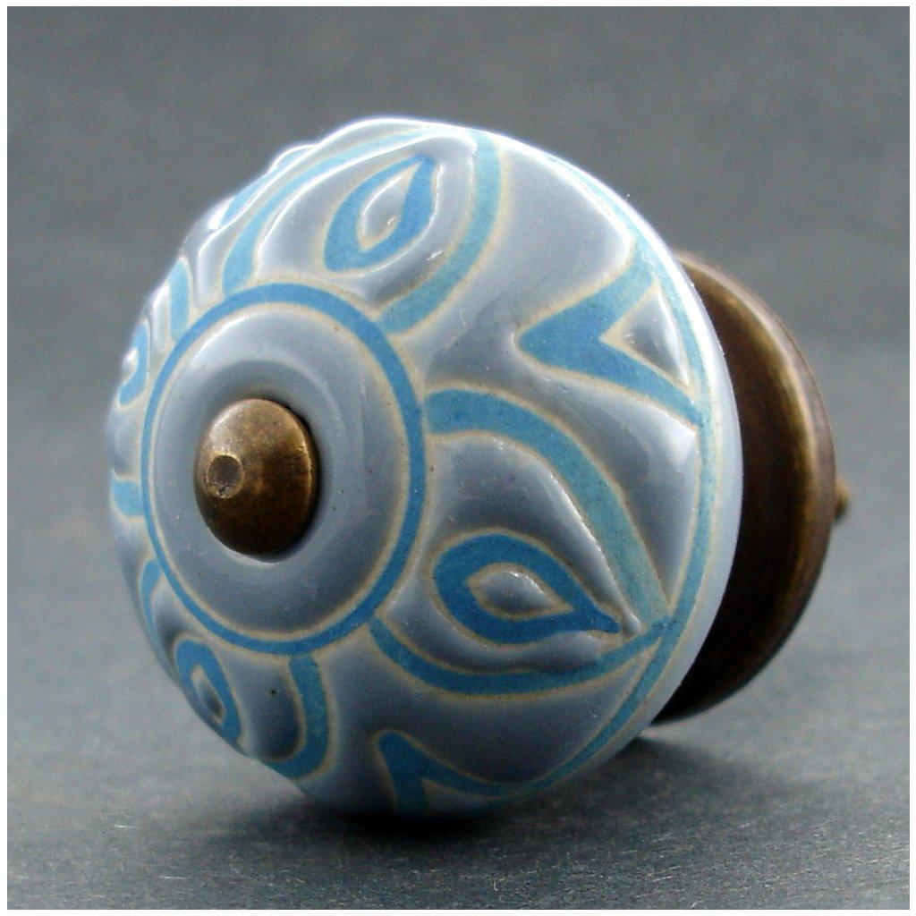 Keramická úchytka-Antika