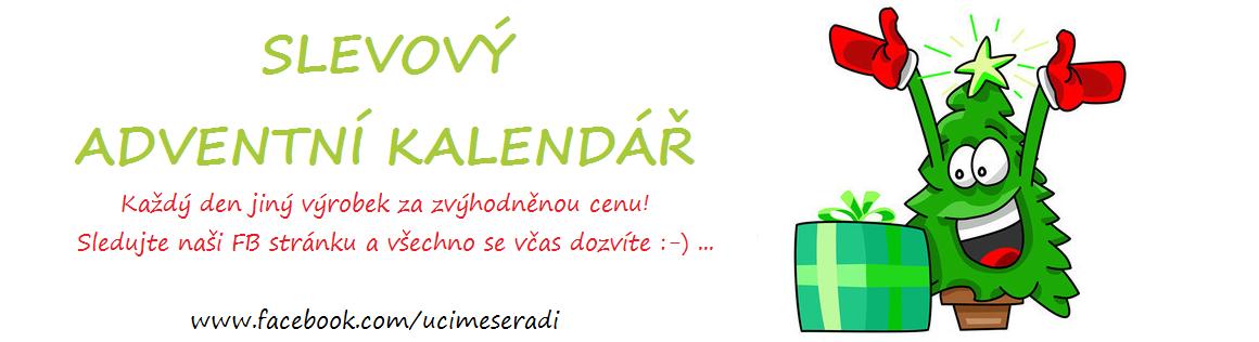 Slevový adventní kalendář
