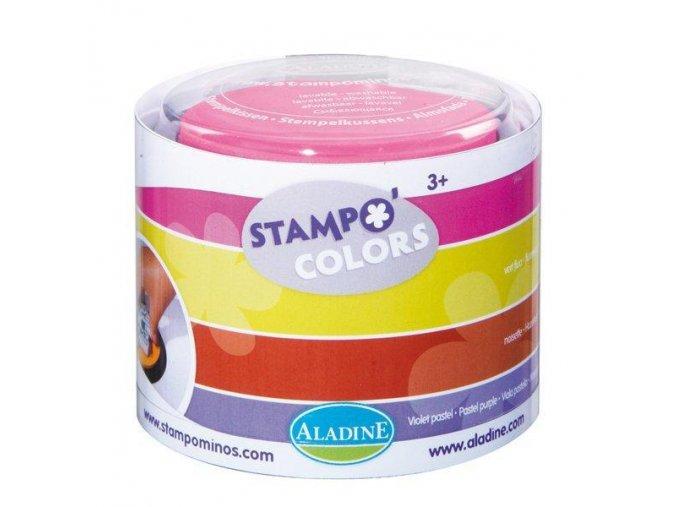 StampoColors, barvené podušky, 4 ks, Festival