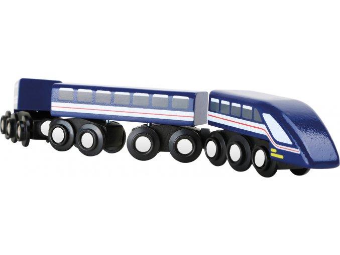 10332 Hochgeschwindigkeitszug Blauer Blitz a