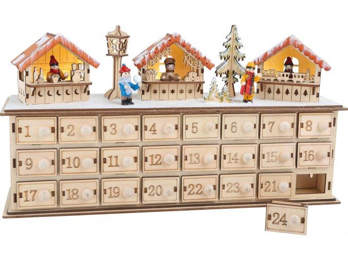 1290 adventskalender aus holz weihnachtsbasar a
