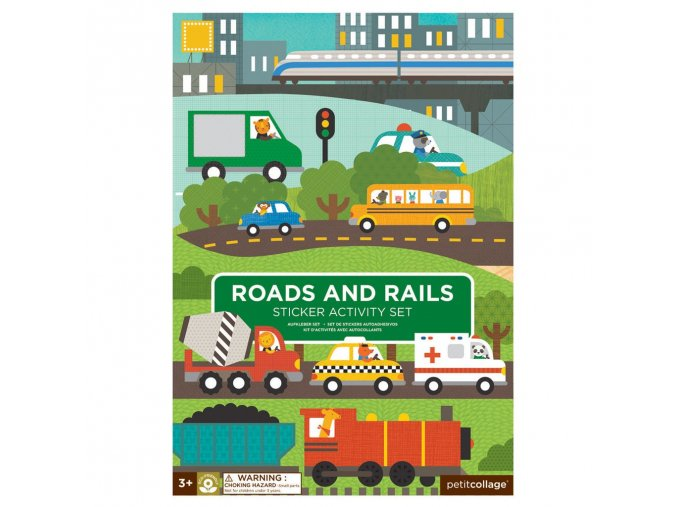 sticker activity set reusable roads and rails transporation cover 1024x1024