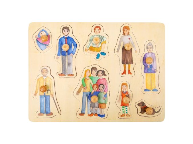 11501 legler small foot design setzpuzzle familie a